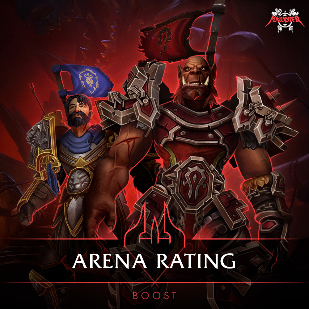 wow arena rating boost