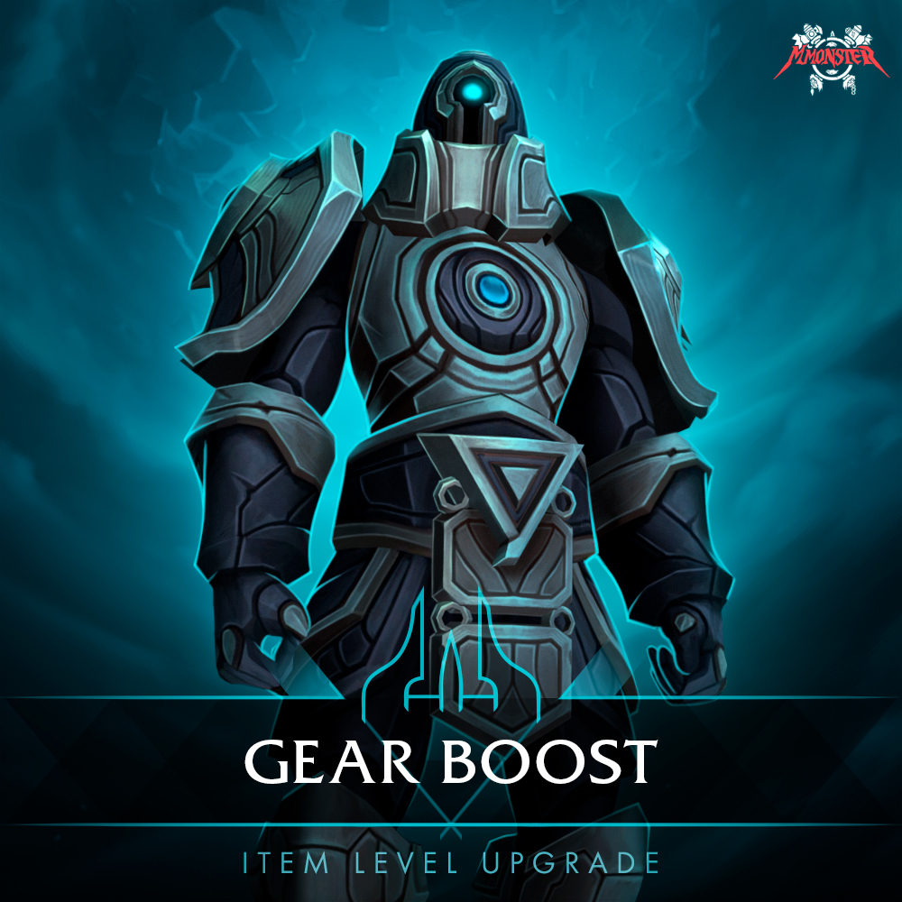 wow item level gear boost carry
