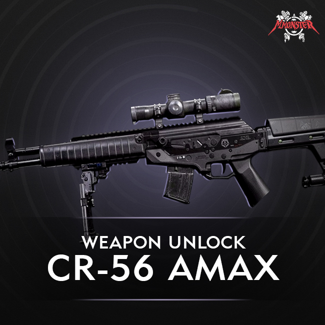 CoD MW CR-56 AMAX Unlock Boost