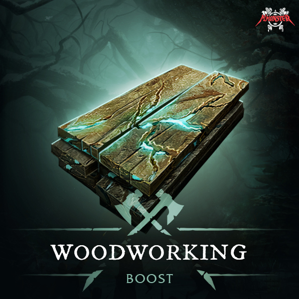 New World Woodworking Power Leveling Crafting Skill Profession Boost
